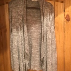 Abercrombie Hooded Cardigan Size m/l